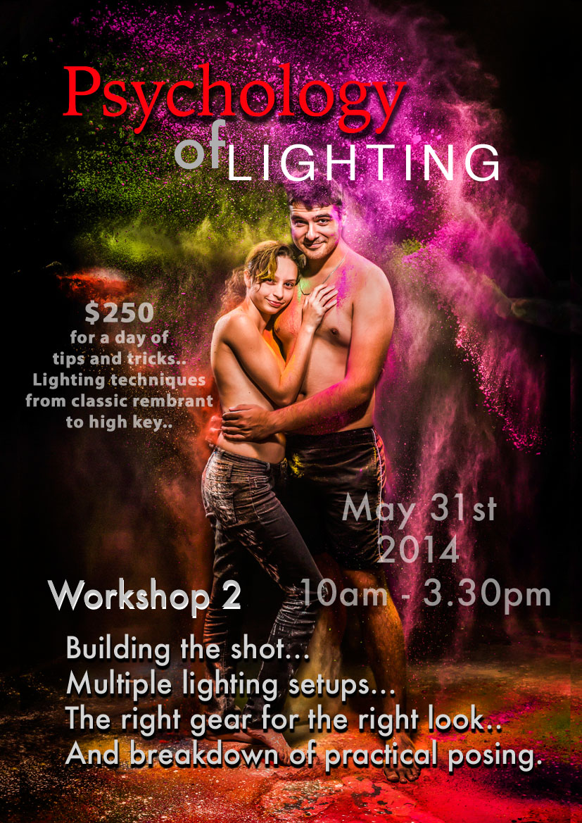 Psychology of Lighting Workshop 2 with Mark Duffus